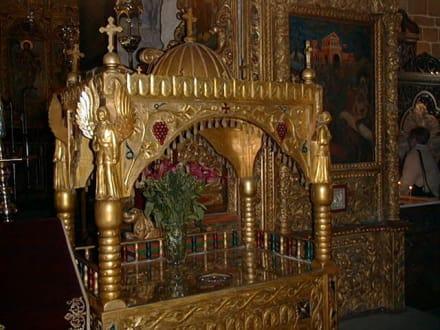 Lazarus-Basilika - Reliquienschrein - Lazarus Basilika