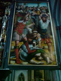 Gemälde im Dom - Xantener Dom