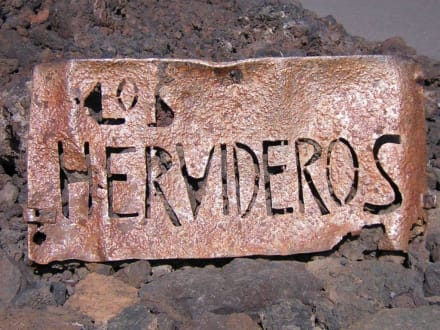 Ausflug - Los Hervideros