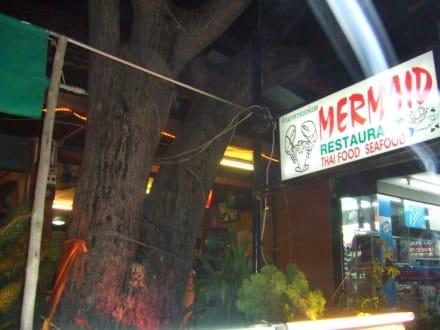 Eingang zum Mermaid - Restaurant Mermaid