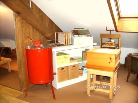 aus der Imkerei - Honigschleuder - Kleinmuseum Klösterle