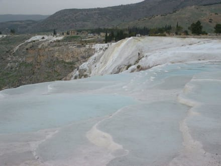 Kalksteinterrassen - Kalksinterterrassen von Pamukkale