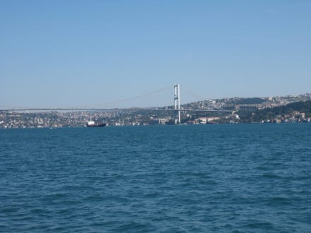 Blick auf den Bosporus - Bosporus Fahrt
