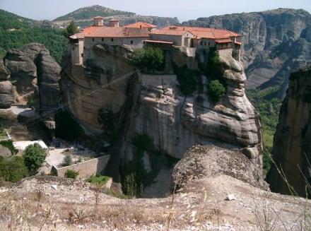Unterwegs in Griechenland- ein Meteora-Kloster - Meteora Klöster
