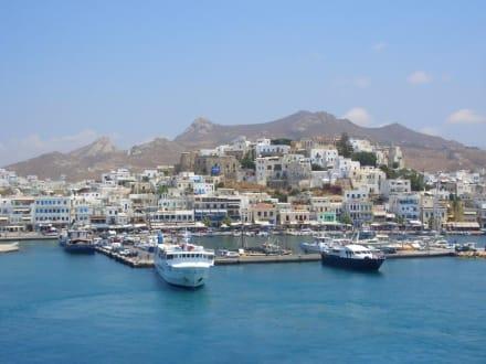 Hafen von Naxos - Hafen Naxos Stadt