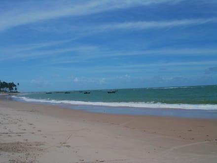 Strand von Guarajuba - Strand Guarajuba