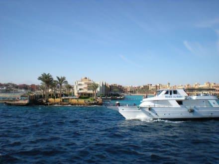 Reger Bootsverkehr - Ausflug nach El Gouna