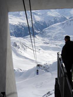 Valluga Bahn - Skigebiet Arlberg Lech Zürs
