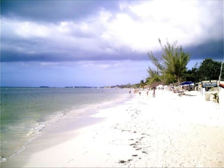 Negril 7 Miles oder auch Long Beach - Negrils 7 Miles Beach