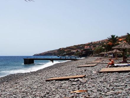 Santa Cruz Strand - Madeira Wandern mit Christa