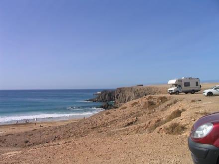 Blick auf den Strand in Cotillo - Strand Cotillo