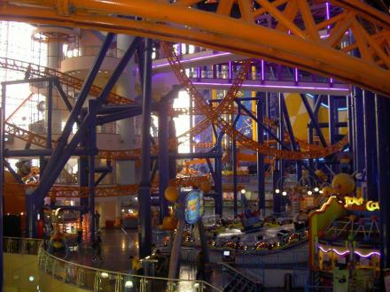Freizeitpark im Shopping Center - Einkaufszentrum Berjaya Times Square