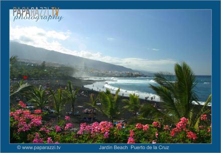 *Playa Jardin in Puerto de la Cruz* - Playa Jardín