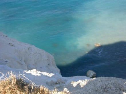 Steilküste am Aphroditefelsen - Geburtsort der Aphrodite - Petra Tou Ramiou