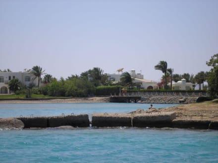 Villa von Omar Sharif - Schnorcheln Hurghada