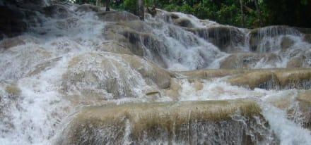 Auf der Rundreise - Dunn's River Falls