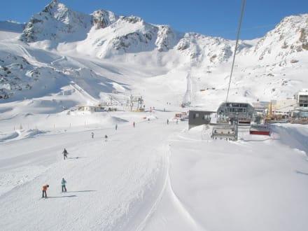 Pisten - Pitztaler Gletscher