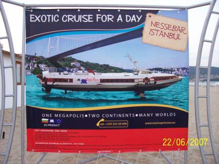 Tragflügelboot - Bootstour Tragflügelboot Sonnenstrand