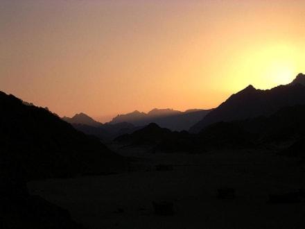 Sonnenuntergang - Wüste