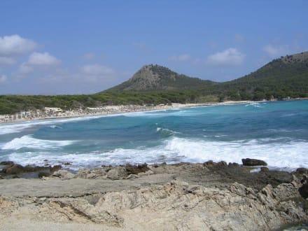 Hohe Wellen an der Cala Agulla - Cala Agulla/ Cala Guya