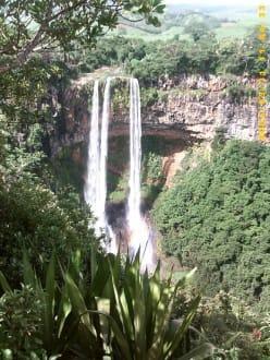 Wasserfall - Chamarel-Wasserfall