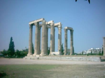 Zeustempel - Olympieion / Tempel des Olympischen Zeus
