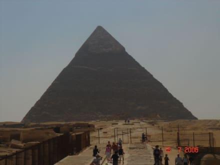 Eine Pyramide von Gizeh - Pyramiden von Gizeh
