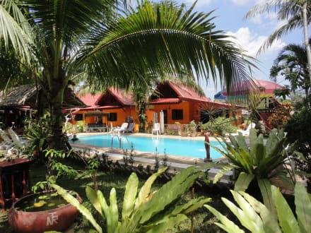 Unser familien bungalow hotel na thai resort
