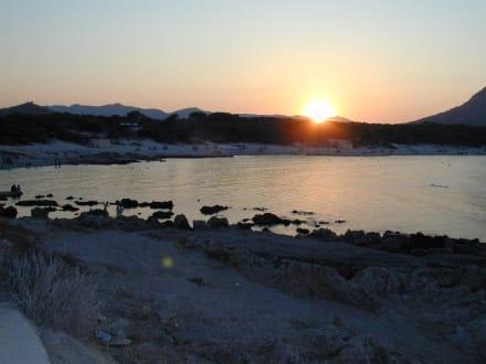 Sonnenuntergang - Cala Agulla/ Cala Guya