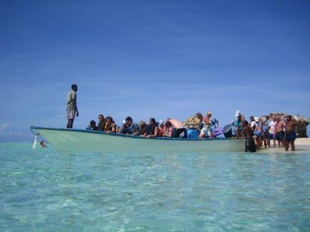Rückfahrt von der Paradiesinsel - Paradies Insel