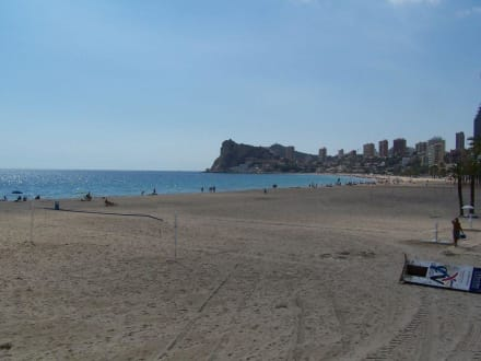 Strand von Benidorm - Playa de Poniente