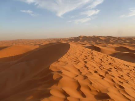 Gigantische Landschaft - Wüstentour Dubai