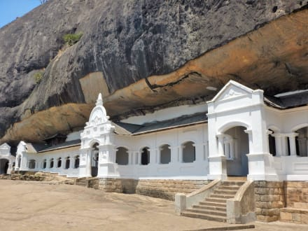 Tempelanlage - Höhlentempel Dambulla