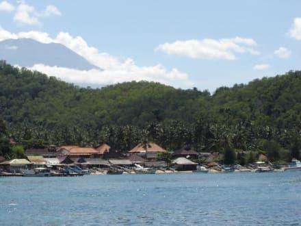 Padang Bai - Hafen Padang Bai
