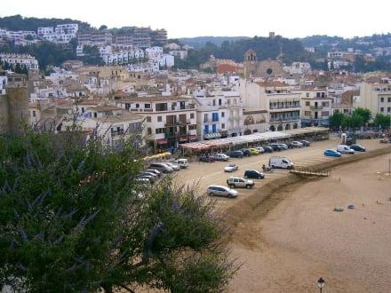 Strandansicht - Strand Tossa de Mar