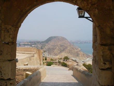 Alicante - Castillo de Santa Bárbara