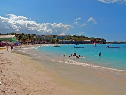 Long Bay Antigua - Strände Antigua