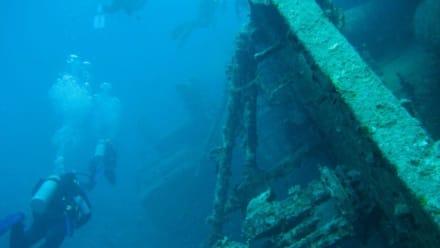 Wrack der El Mina - Jasmin Diving Center