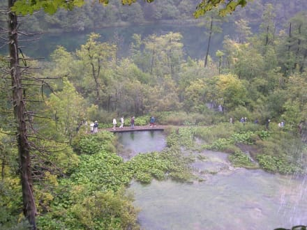 Rundgang durch die Plitwitzer Seen - Nationalpark Plitvicka Jezera (Plitvicer Seen)