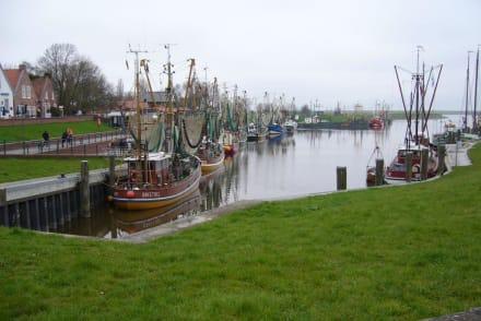 Kutter nach dem Fisch,- Krabbenfang. - Ostfriesland