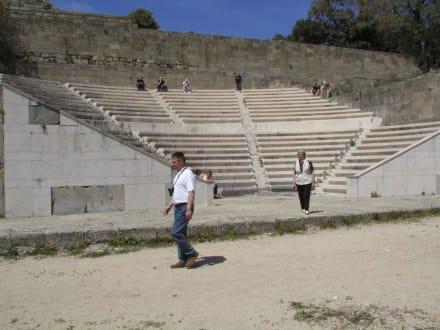 Das theater - Akropolis von Rhodos (Monte Smith Hill)