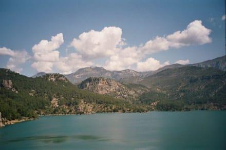 Der Stausee - Oymapinar Baraji/ Stausee Green Lake & Green Canyon