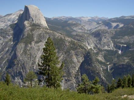 Der Halfdome vom Glacier Point - Yosemite Nationalpark