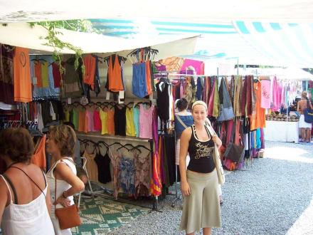 Shoppingmarkt in Andraitx - Wochenmarkt Andratx