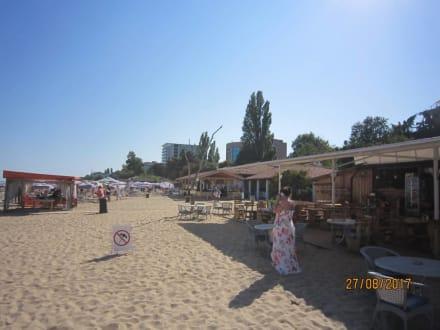 Ausblick - Strand Goldstrand