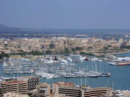 Blick auf Palma - Hafen Palma de Mallorca