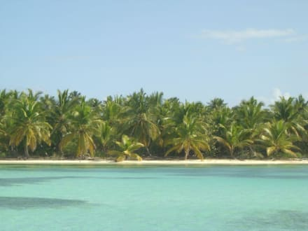 Strand auf Saona - Strand Punta Cana
