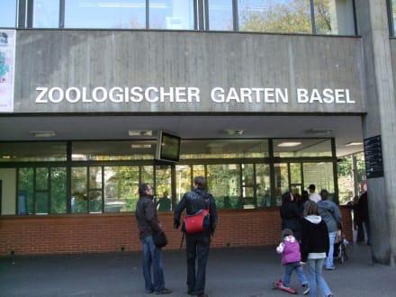 Der Eingangsbereich - Zoo Basel