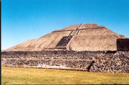 Teotihuacan, die Sonnenpyramide - Sonnenpyramide