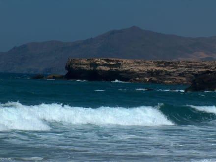 Der Strand von Laperd zum Wellensurfen Ideal... - Strand La Pared